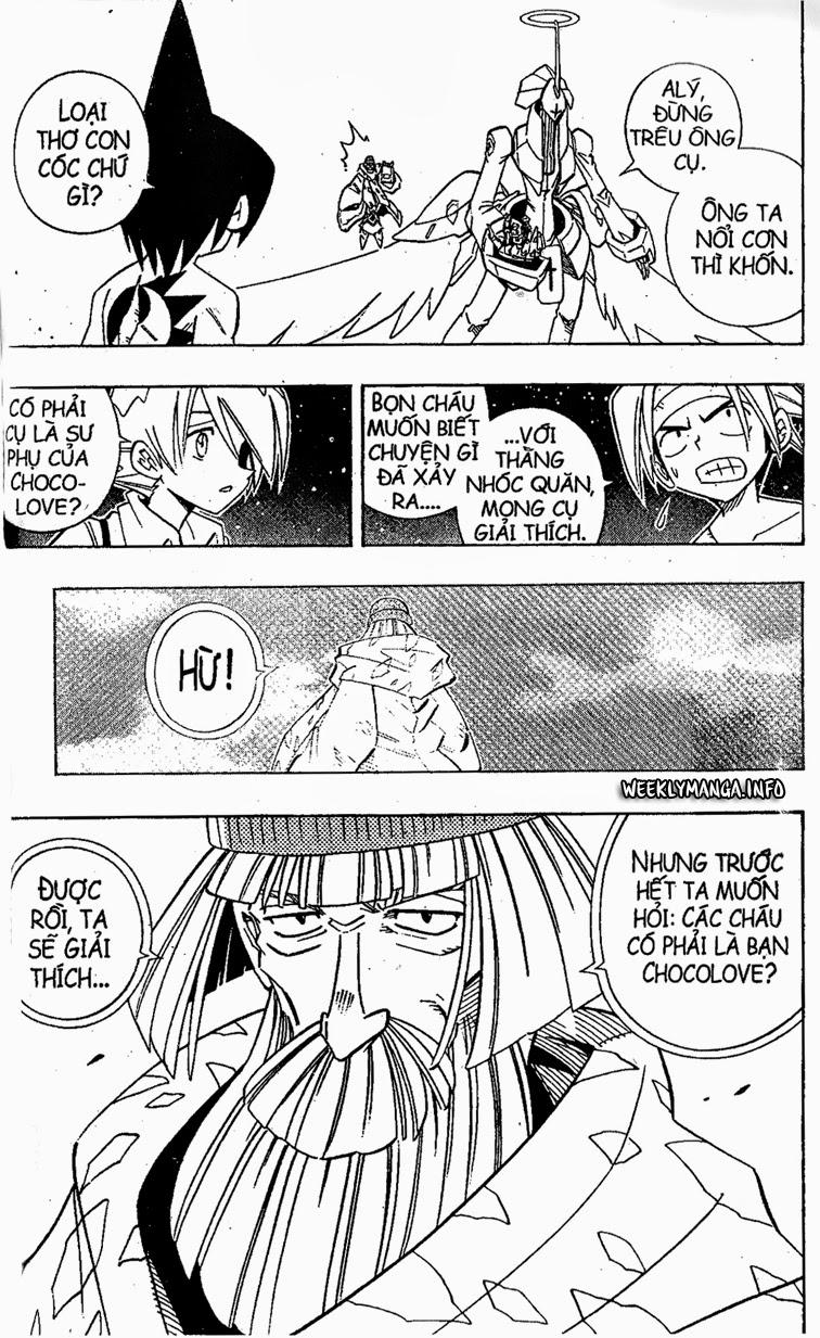 Shaman King [Vua pháp thuật] chap 204 trang 4