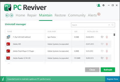 تحميل برنامج PC Reviver لاصلاح جهاز الكمبيوتر