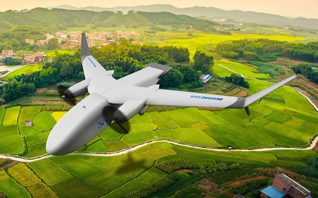 Cainiao Beihang cargo drone