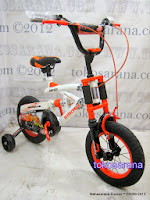 Sepeda Anak Wimcycle Air Flex Suspensi 12 Inci