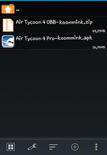 Cara Install Apk + Data OBB di Android Lengkap Dengan Gambar