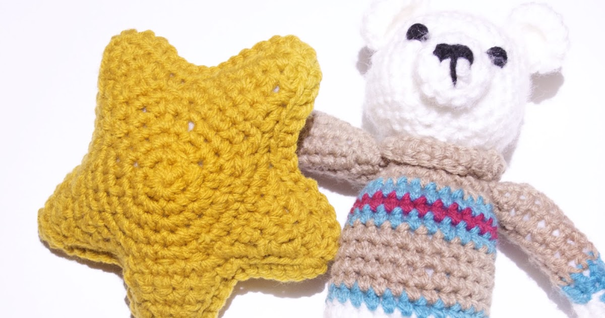 It is All In The Stars: Free Amigurumi Star Pattern - Crochet To The ...