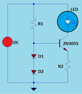 high power leds up to 15 amperes circuit diagram. Black Bedroom Furniture Sets. Home Design Ideas