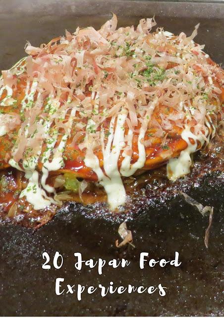 Pinterest Pin: Japan Food Experiences