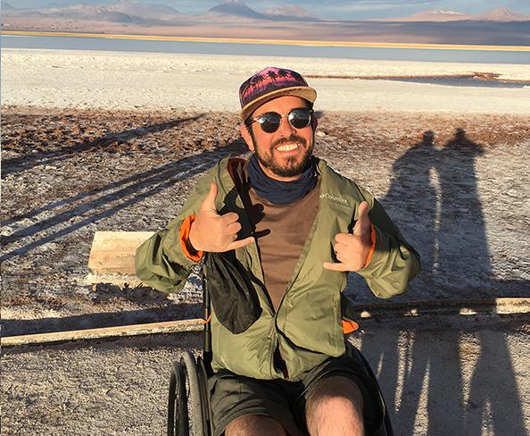 Pontos turísticos para deficientes físicos em San Pedro de Atacama