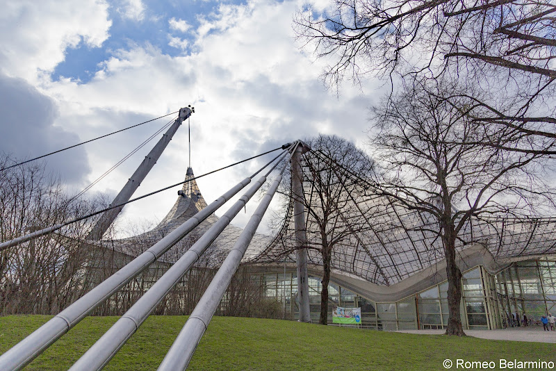 Olympiapark Munich in a Day Long Layover