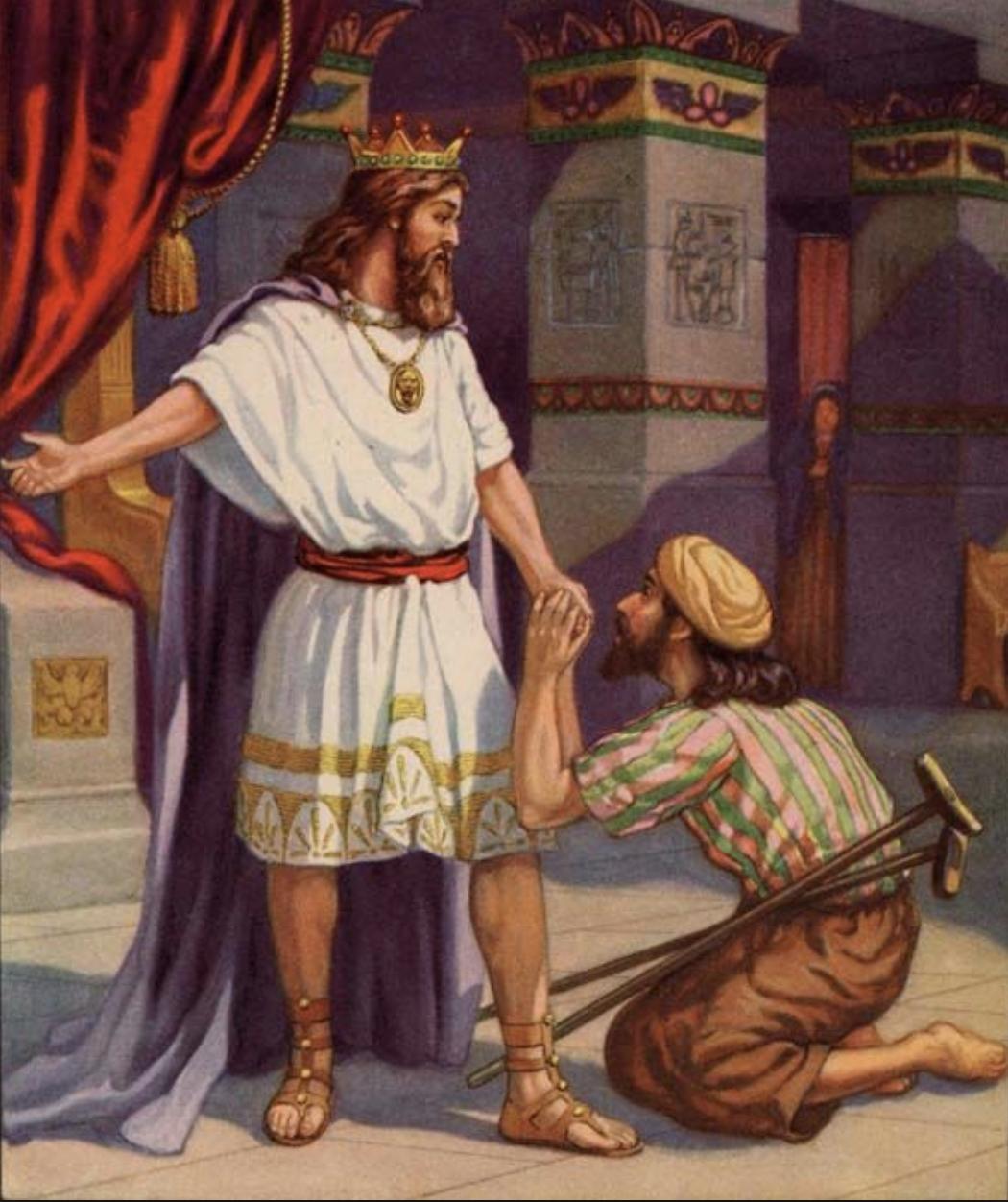 Estudio Biblia 2 Samuel 9 Hijo De Jonatan