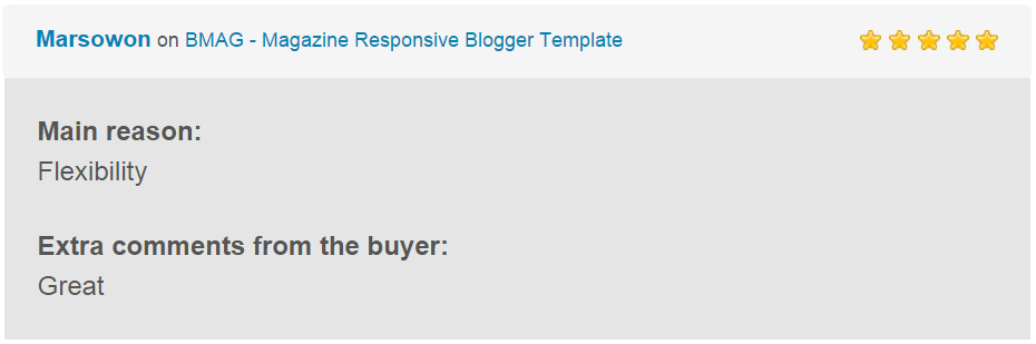 BMAG - Magazine Responsive Blogger Template - 15