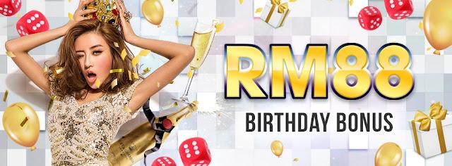 RM88 Birthday Bonus