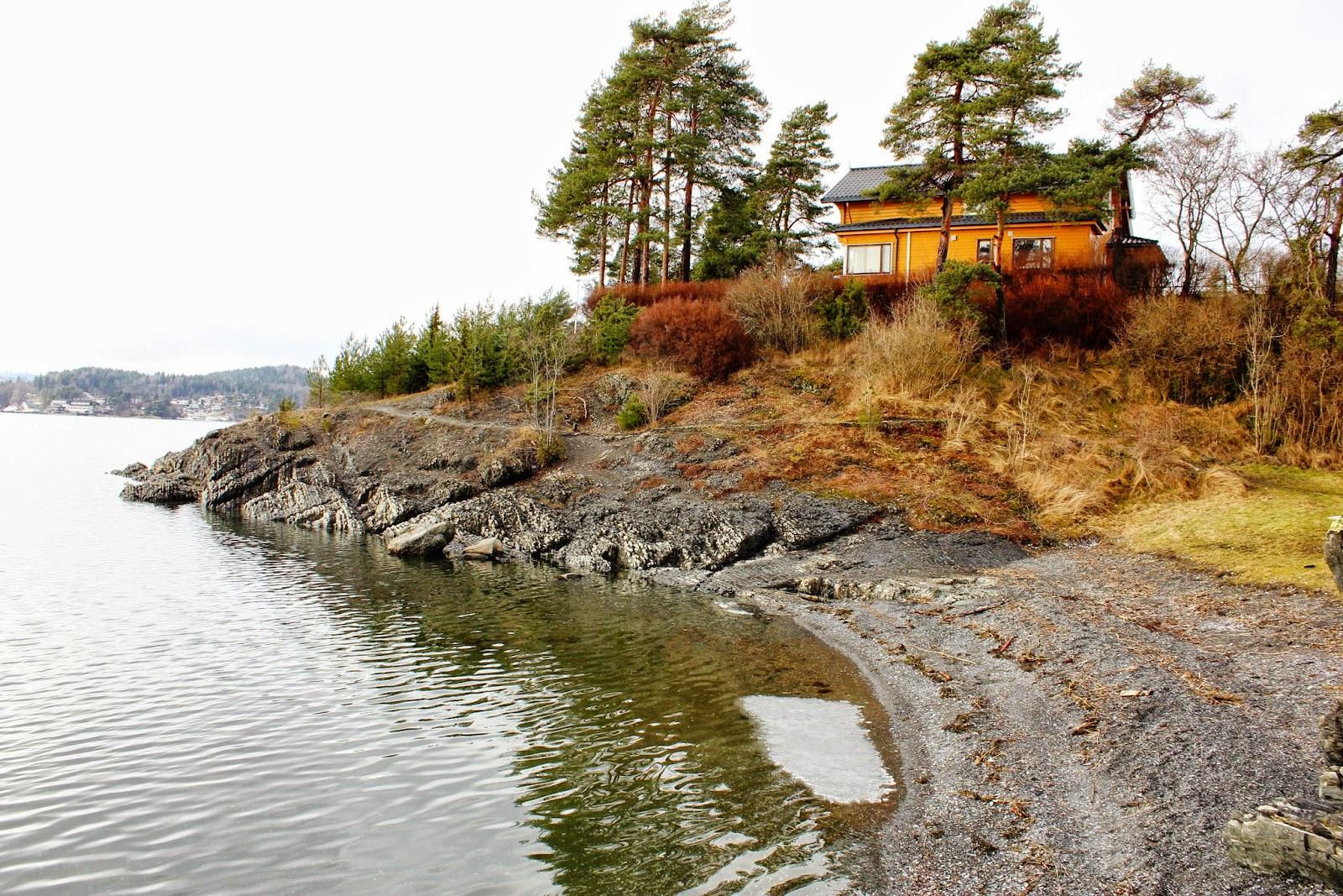 Wyspa Nesoya obok Oslo