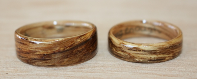 Wood Wedding Ring 66 Superb Touch Wood Oak Rings
