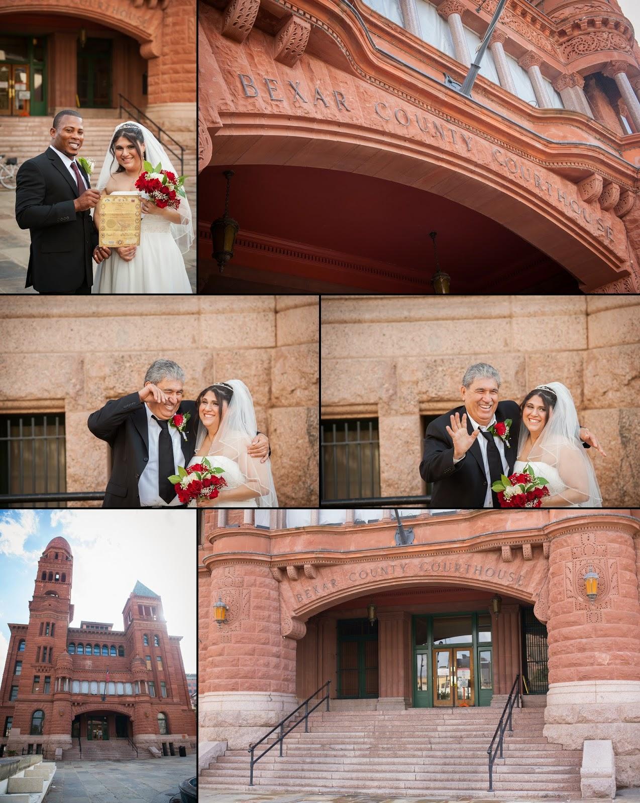 Bexar County Courthouse Wedding Damaris Rafael