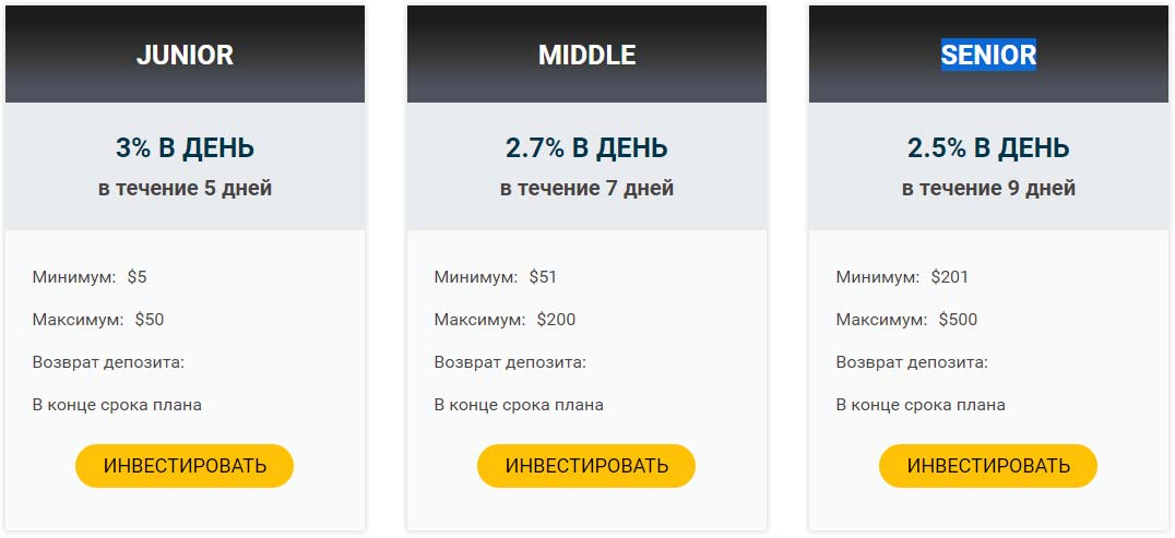 Инвестиционные планы Fininvest Group