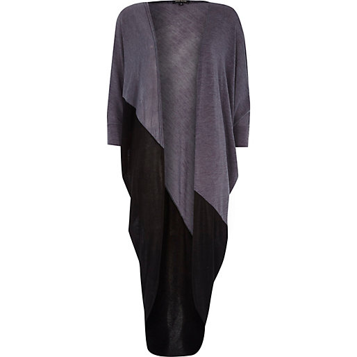 http://www.riverisland.com/women/knitwear/cardigans/Grey-colour-block-draped-midi-cardigan-663671