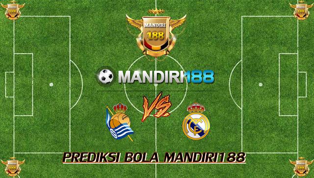 AGEN BOLA - Prediksi Real Sociedad vs Real Madrid 18 September 2017