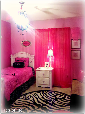 inspiring acts life hot pink bedroom my daughters project   Acts of Life: Hot pink Bedroom! My daughters bedroom project