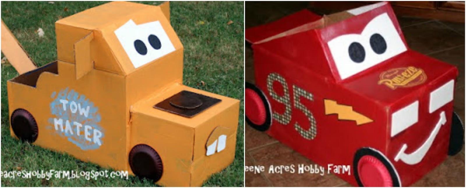 C mo hacer un carrito de cart n cositasconmesh - Como hacer un carrito de chuches paso a paso ...