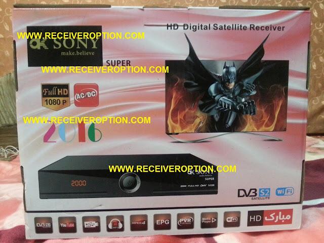 OK SONY SUPER HD RECEIVER BISS KEY OPTION
