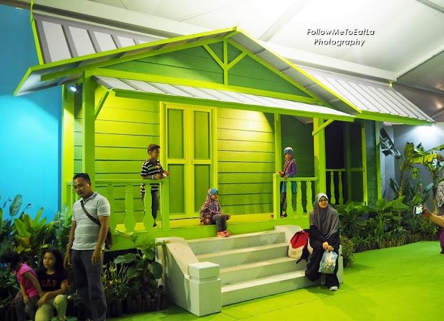 Replica Of Upin & Ipin Green House