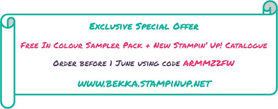Exclusive Special Offer - Get An In Colour Sampler Pack when you order between now and End of May 2016