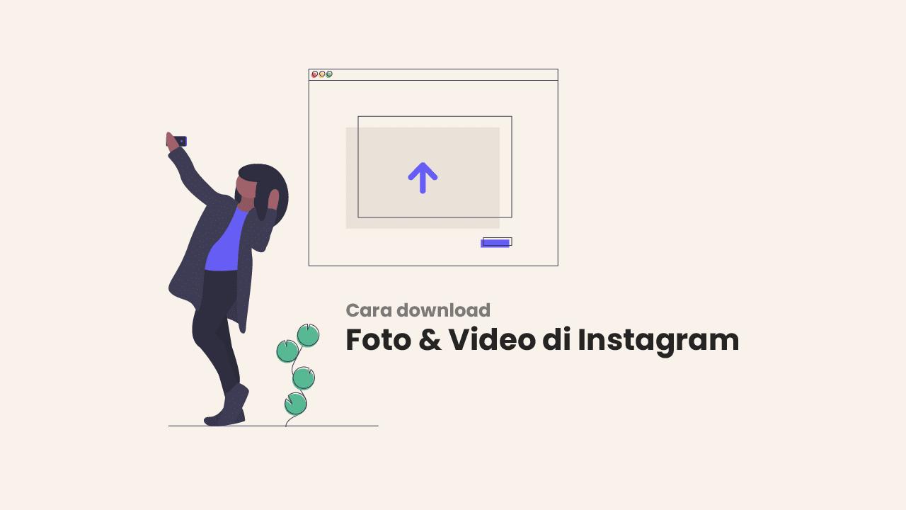 Cara Download Foto di Akun Instagram