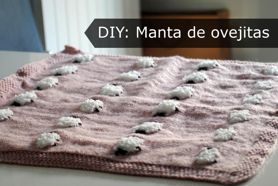 DIY: Manta de ovejitas - Handbox Craft Lovers | Comunidad DIY ...