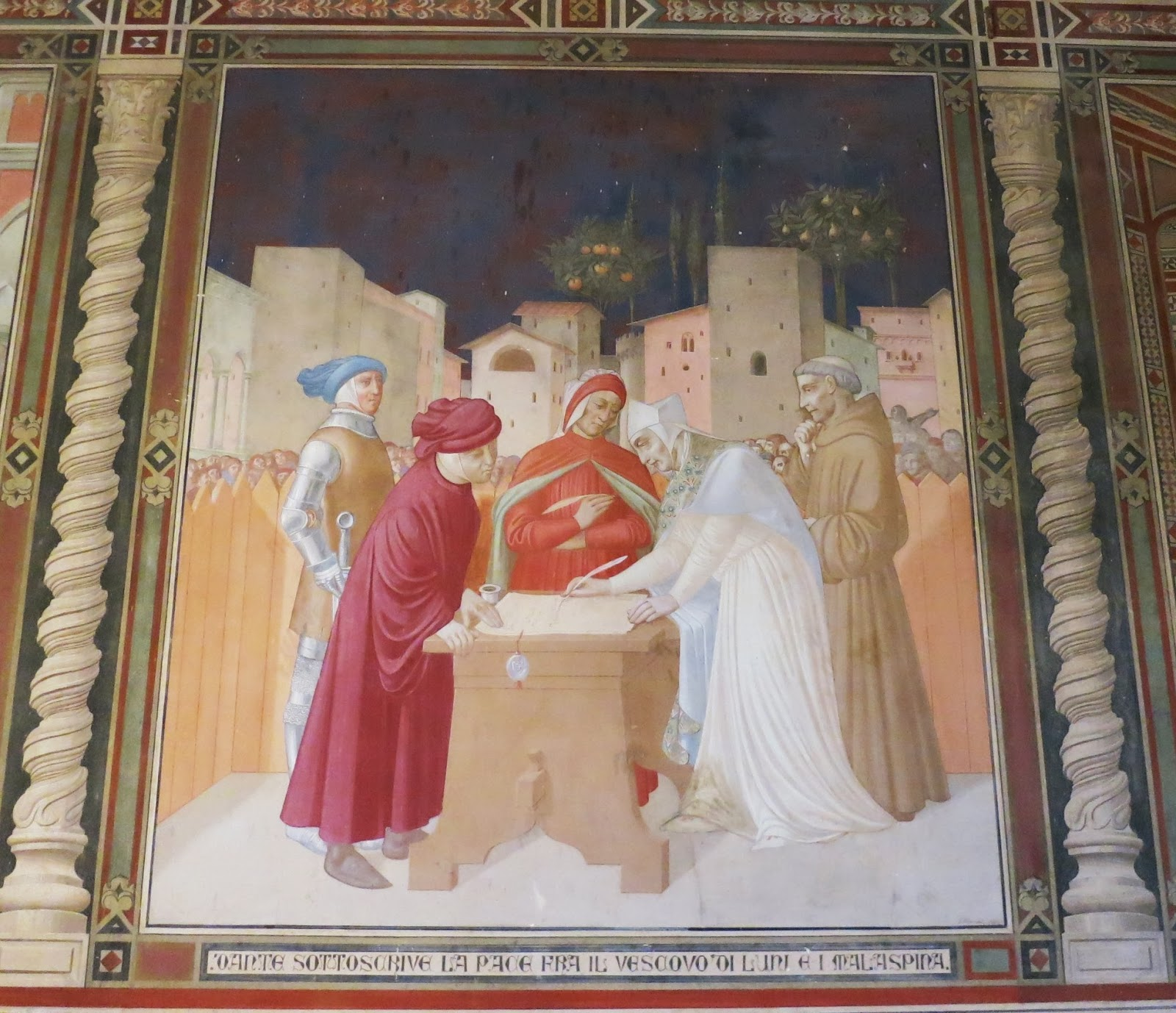Dante & the Bishop of Luni