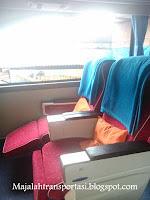 interior bus gajah mungkur kelas big top jurusan Solo, Wonogiri, Baturetno