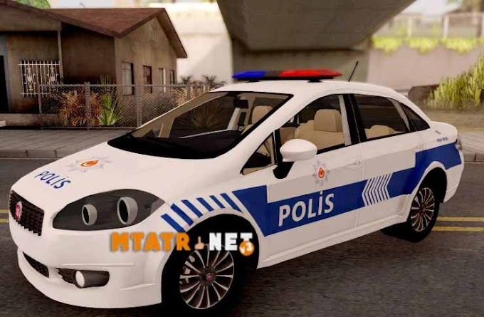 MTA SA Fiat Linea Turkish Police Car
