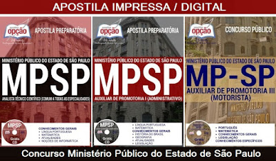 Apostila Opção para Auxiliar de Promotoria I concurso do MP-SP 2018