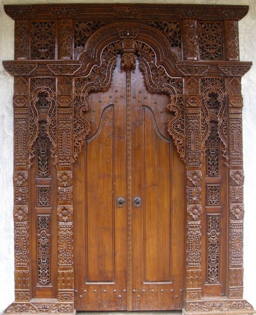 pintu kupu tarung jati 4