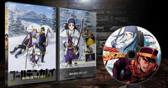 Golden Kamu | Cover DVD |