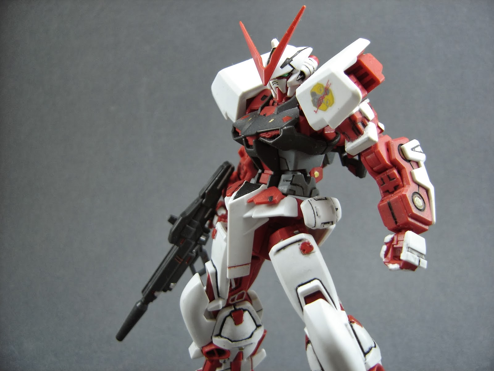 Lightning Ace's gundams: W.I.P. gundam astray red frame ...