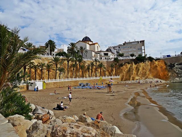 Hiszpania - Benidorm i okolice. Plaża Poniente i promenada