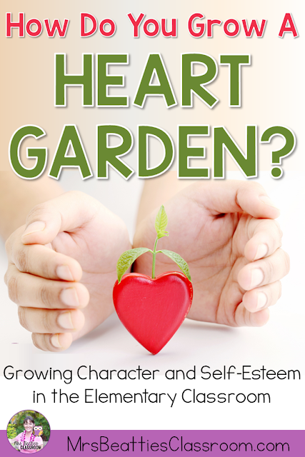 Character education in elementary classrooms is much more than bucket filling. Teach your students to appreciate the good deeds and kindnesses shown by their classmates with a Heart Garden: a year-long character education program that includes activities, growing character display, posters and more!