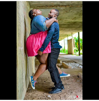 Love knows no sizes.. lovely Pre-wedding Photos