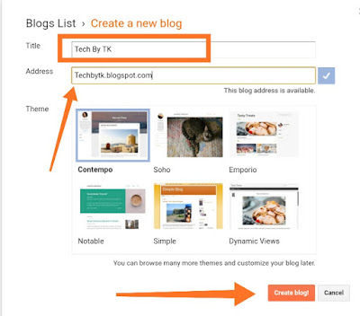 How to Create a Blog on Blogger Complete Guide for Beginners