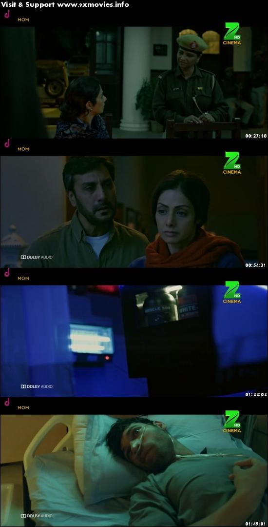 Mom 2017 Hindi 480p HDTV 350mb