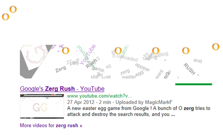 Zerg Rush effect on Google Search