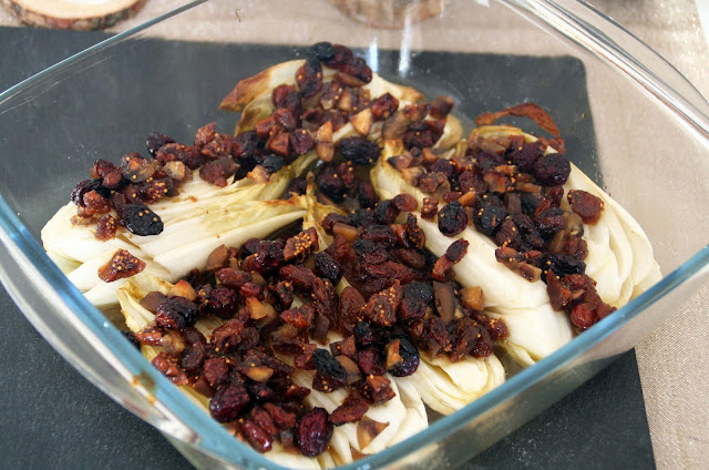 Chicorée aus dem Ofen
