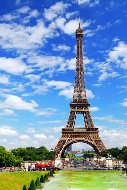 Three Historical Places In France