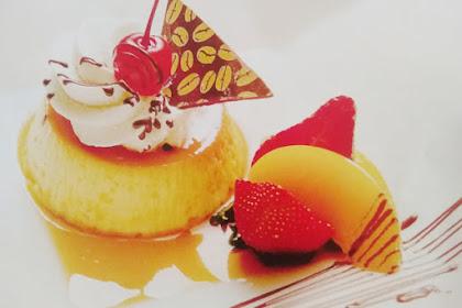 Resep Caramel Pudding
