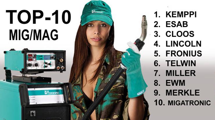 ТОП 10 производителей сварочных полуавтоматов для ЗМК