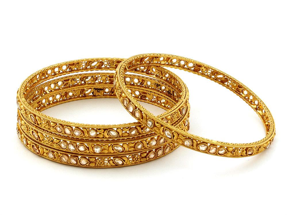 hairstyle coiging: bridal Gold Bangles