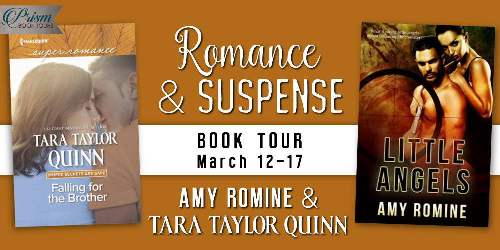 It's the ROMANCE & SUSPENSE Grand Finale for AMY ROMINE & TARA TAYLOR QUINN!