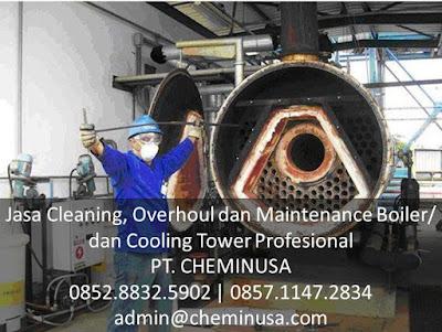 jasa maintenance boiler cooling tower murah