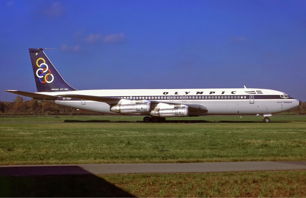 Aco Bv Olympic Airways Boeing 707 384b Utopia Airport