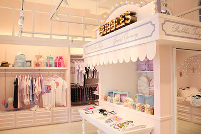 Bubbles Harajuku store for cute fashion