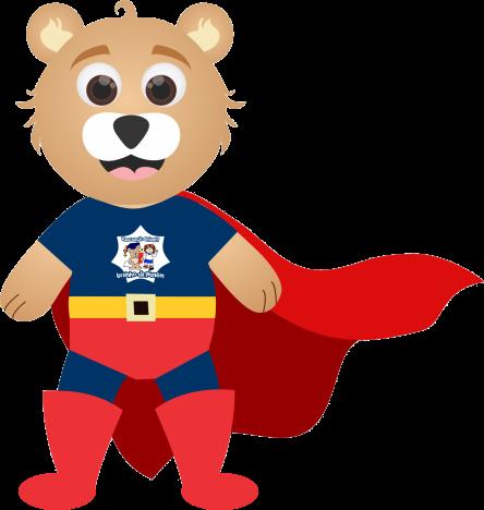 Urso super-herói
