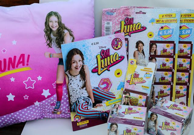 Soy Luna bei Panini Sammelheft und Karten